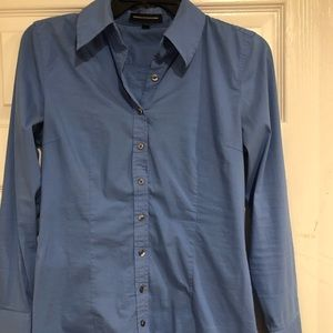 Express studio button down work shirt